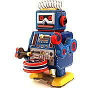 Tin Bending Wire Robot Wind-Up Toys for Collection