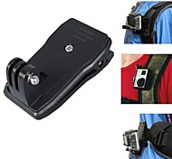 YouOKLight® 360' Rotary Backpack Rec-mounts Clip Fast Clamp Mount for GoPro Hero3+/3/2/Hero/SJ4000