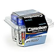 Camelion bateria super pesados tamanho c em caixa de plástico de 4 pcs