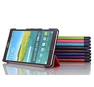Mode 3-fach PU Ledertasche für Samsung Tab 8.4 s t700