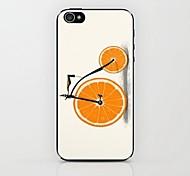лимон высотой велосипед шаблон жесткий футляр для iPhone 4 / 4s