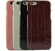 Crocodile Design Pattern Hard Cover for iPhone 6  (Assorted Colors)
