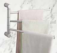 Contemporary Rotation Space Aluminium Towel Rack