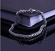 Men's Fashion Personality Titanium Steel Polycyclic Bracelets