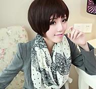 женская шифона кружева с точки образца шарф