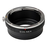 EOS-NEX Metal Camera Lens Mount Adapter Ring for Canon EF EF-S Lens to Sony NEX-7 6 5R 5n F5 VG20