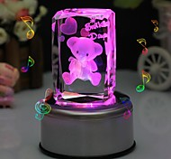 Personalized Gift Bear Crystal Music Box LIWUYOU™
