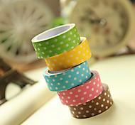 простой дизайн пятно шаблон скрапбукинга клеи ленты (3м случайный цвет, 1 шт)