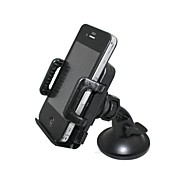 HY-SJ6690 Universal Mount Holder with 55mm to 100mm Width 360 Degree Rotation Phone Holder for iPhone & Cell Phones