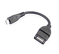 XMW 0.1m 0.328ft usb2.0 hembra micro usb cable usb macho