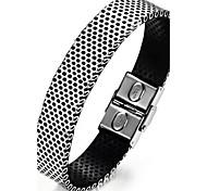 z&X® pulseras cinturón de titanio de acero de personalidad de la moda de los hombres