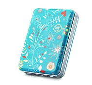 12000mAh Blue Leopard Portable Power Bank for iPhone 6/lG/nOte3/iPad/and Other Smart Phones
