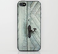 Old Door Pattern Hard Case for iPhone 5/5S