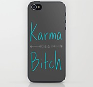 estojo rígido padrão de karma para iphone 6