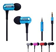 AWEI 100i  3.5mm In-Ear Earphones With MIC 3 Accessories for Samsung Phones(Assorted Colors)