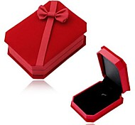 Coway 10*7.8*3.5 Exquisite Bow Velvet Gift Box