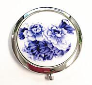 cinese blu e bianco porcellana specchio compatto serie-a buon mercato (50 modelli totali, modello casuale)