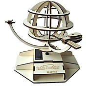Rotating Satellite Solar Power Assembled Toy