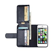NEW Leather Wallet Full Body Cases for iPhone 5/5S(Assorted Colors)