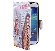 Coway  Urban Label Printing Cloth Mobile Phone Holster Case for Samsung S4 i9500