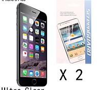 [2-pack] Protector de pantalla anti-huella digital de alta calidad para el iphone 6s / 6 más