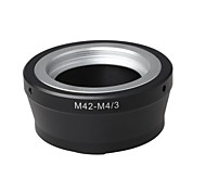 M42 Mount Lens to Micro 4/3 M4/3 Mount Adapter For OlympusE-P1 EP-2 Panasonic DMC-G1 DMC-GH1 DMC-GF1 M42-M4/3