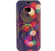 Dreamcatcher Pattern TPU Soft Cover for HTC One M8