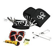 ks nylon multi-funcional kit ferramenta de reparo de bicicleta portátil
