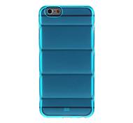 Körperpanzer Design transparent TPU Soft Cover für iPhone 6