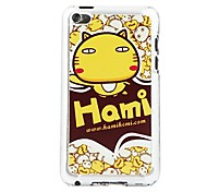 A Group of Love Cats Leather Vein Pattern Hard Case for iPod touch 4