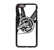 Bike Design Aluminum Hard Case for iPhone 6