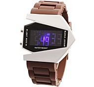 Men's Aircraft Style Multi-Functional Digital Wrist Watch (Assorted Colors)