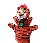 Christmas Tiger Large-sized Hand Puppets Toys