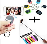 Self Handheld Monopod Wireless Bluetooth Remote Shutter Control for iPhone 6/6plus/5/5S/4/4S Samsung Galaxy S5 S4 S3