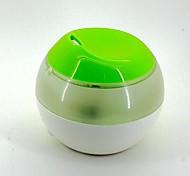 USB Powered Ultrasonic Air Humidifier - White + Green (120mL)
