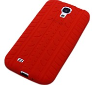 Tire Pattern Silicone Case for Samsung Galaxy S4 I9500