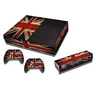 b-piel® una consola xbox cubierta de pegatinas para el parachoques de protección de la piel de la piel del controlador