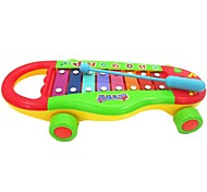 High Quality ABS Cartoon Knock Piano Intelligent Baby Toys Noisemaker Toys Baby Educational Toys Draggable Toys
