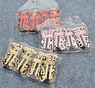Cat / Dog Shoes & Boots Waterproof / Wedding / Leopard / Cosplay Red / Pink / Gold Spring/Fall PU Leather