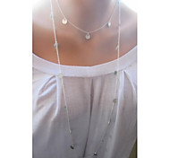 Z&X®  Contracted Fashion Alloy Strands Long Necklace