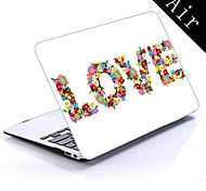 Flowery Love Design Full-Body Protective Plastic Case for 11-inch/13-inch New MacBook Air