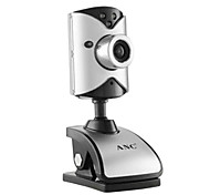 Aoni Anc C230 1.3 Megapixel Mini Webcam With Built-In Microphone