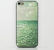 зеленое море любви образов жесткого случай для IPhone 6