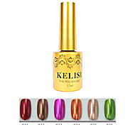 1PCS KELISI Professional Metal UV Color Gel NO.31-36(12ml,Assorted Color)
