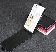 Hot Sale 100% PU Leather Flip Leather Up and Down Case for Huawei P6(Assorted Colors)