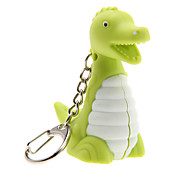 Dinosaur LED Light with Sound Effects Keychain