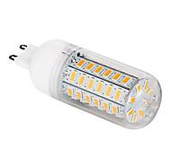 Bombillas LED de Mazorca T G9 12W 56 SMD 5730 1200 LM Blanco Cálido AC 100-240 V