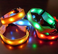 Double-sided Luminous Safety LED Flash Collar for Dogs(Assorted Size,Assorted Color)