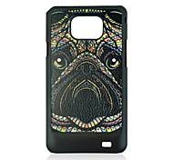 Rhinoceros Leather Vein Pattern Hard Case for Samsung Galaxy S2 I9100