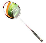 kason 4u rojo&de fibra de carbono blanco 1060 la raqueta de bádminton (fype102-1)